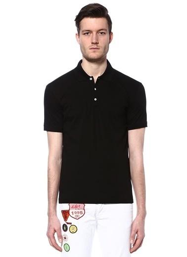 Dsquared2 Polo Yaka Tişört Siyah